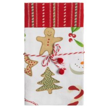 Tag Kitchen Cotton Dish Towels - 2-Pack in Whimsy Baking - Closeouts