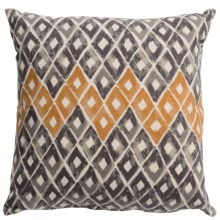 Tag Natural Home Printed Throw Pillow in Geo - Closeouts