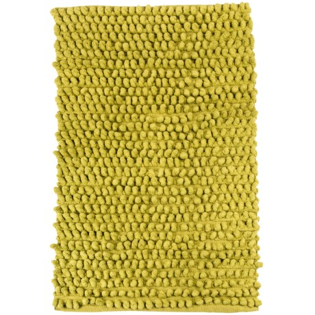 Tag Pebbles Cotton Chenille Rug - 2x3' in Green