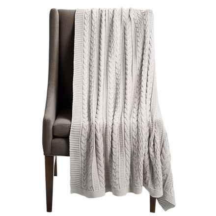 "Tag Santa Monica Throw Blanket - 50x60"" in Sand - Closeouts"