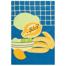 Tag Tropical Fruit Dish Towel in Cornflower - Closeouts