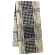 Tag Waffle Checks Dish Towel in Gray - Closeouts