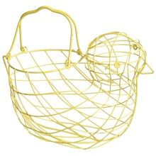 Tag Wire Chick Basket in Yellow - Closeouts
