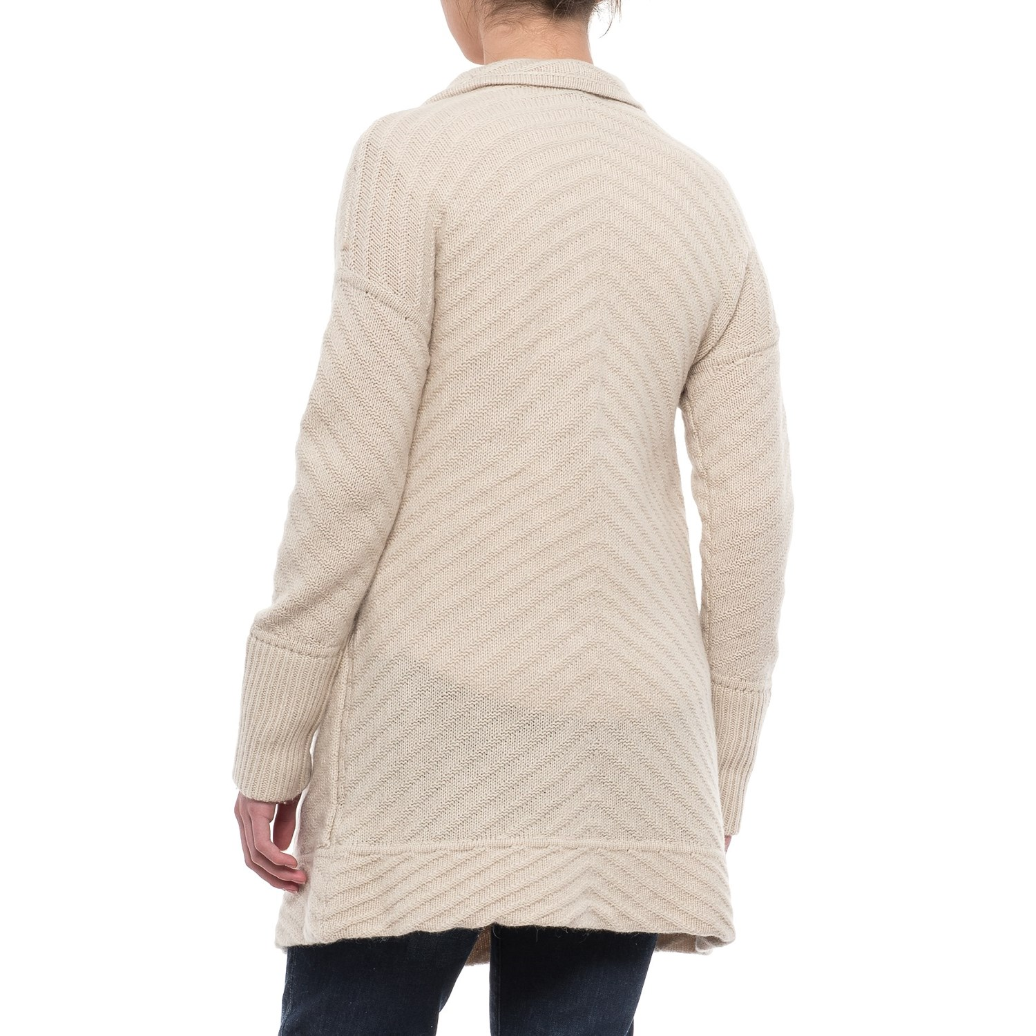 Tahari Allover Texture Open Cardigan Sweater (For Women) - Save 45%