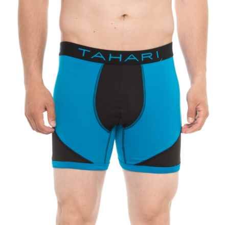Tahari Boxer Briefs - Electric Blue/Black (For Men) in Electric Blue/Black - Closeouts
