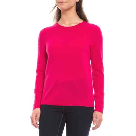 0fde8d5399 Tahari Cashmere Sweater - Crew Neck (For Women) in Bright Rose - Closeouts