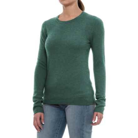 Tahari Cashmere Sweater - Crew Neck (For Women) in Wreath Heather - Closeouts