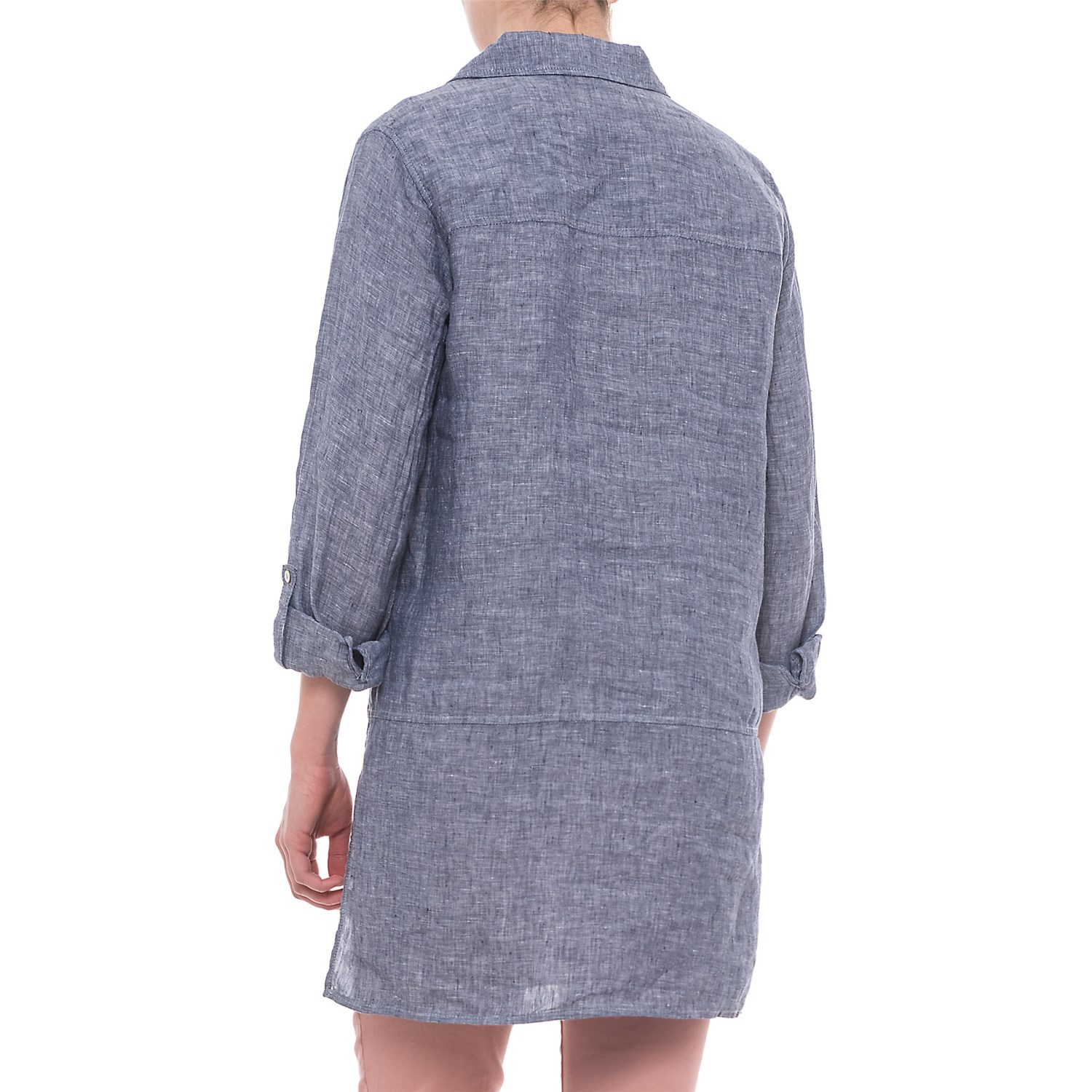 9b8df42d314bd Tahari Cross-Dyed Linen Tunic Shirt - Long Sleeve (For Women)