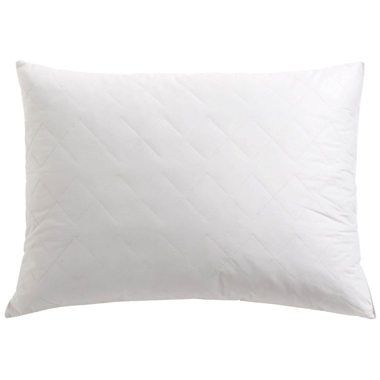 Tahari Home Decorative Pillow : Tahari Diamond Quilt Feather Pillow - Super Standard, 230 TC Cotton - Save 45%