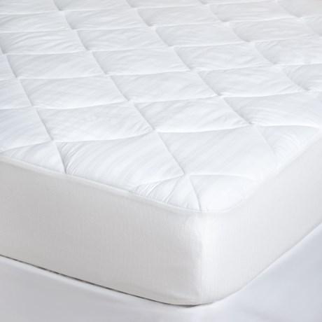 Tahari Egyptian Cotton Mattress Pad - California King, 300 TC in White