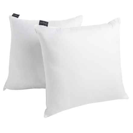 Tahari Embroidered Square Pillows - 230 TC, 2-Pack in See Photo - Closeouts