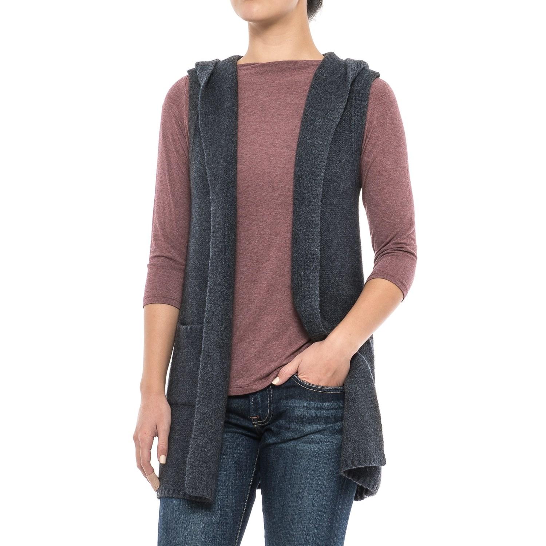 Tahari Hooded Sweater Vest (For Women) - Save 48%