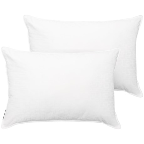 Tahari Memory Fiber Pillow - Jumbo, 300 TC, 2-Pack in White