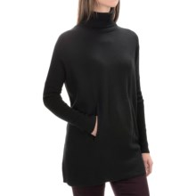Tahari Merino Wool Turtleneck Sweater (For Women) in Black - Closeouts