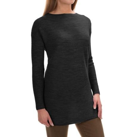 Tahari Ottoman Boat Neck Sweater - Merino Wool (For Women)