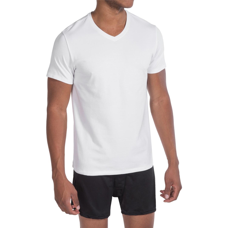 Tahari Pima Cotton Blend Jersey T-Shirt (For Men) - Save 33%