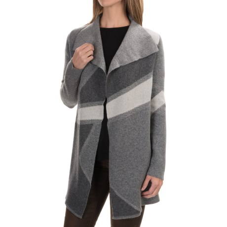 Tahari Pure Luxe Cashmere Cardigan Sweater - Open Front (For Women)