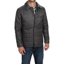 Tahari Quilted Shirt Jacket (For Men) in Charcoal - Closeouts