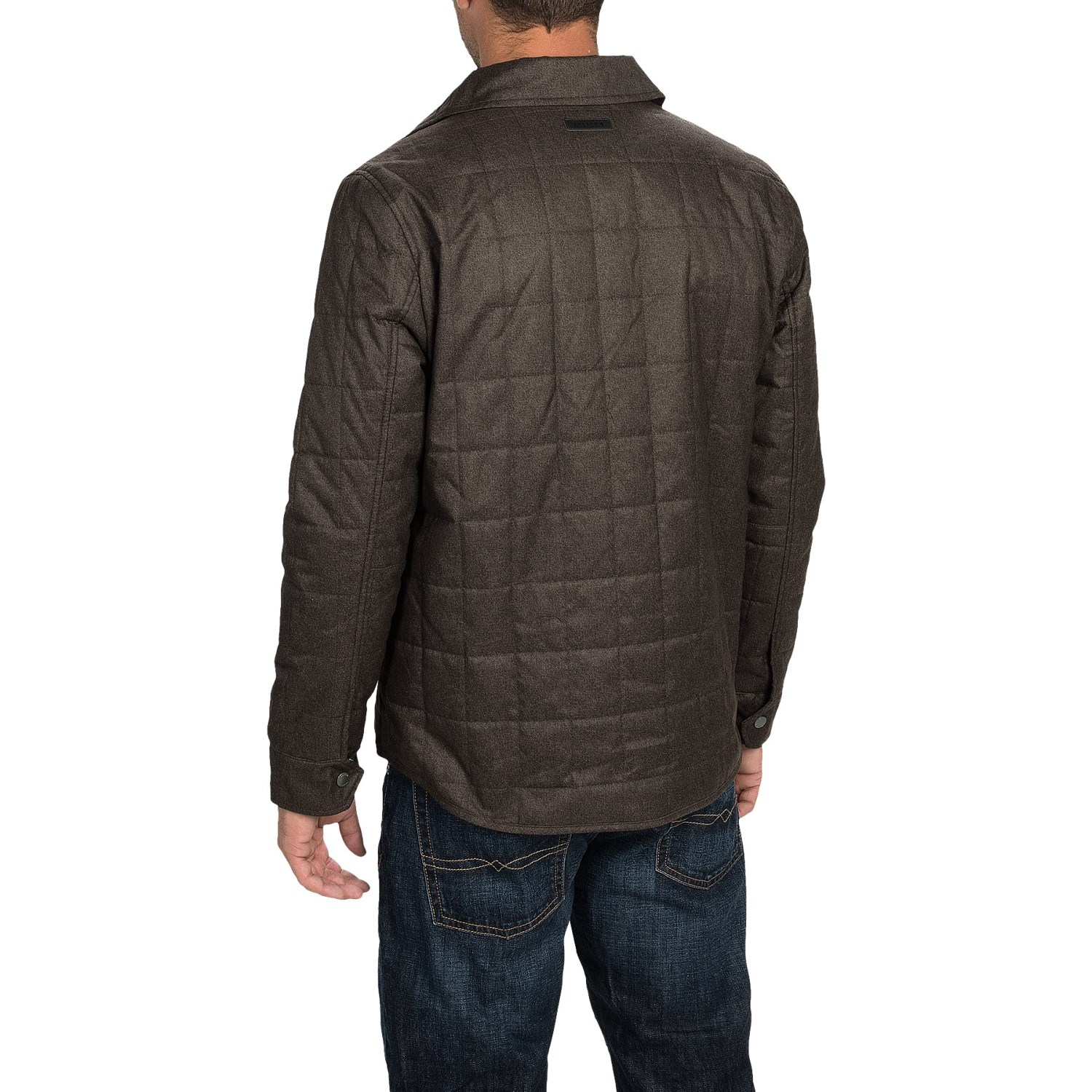 Braveman Men's Quilted Blazer Jacket: Lightweight Quilted Jacket, 5 Large Buttons Keep the Cold Out, Features Two Front Pockets and One Breast Pocket. % Polyester, Imported.