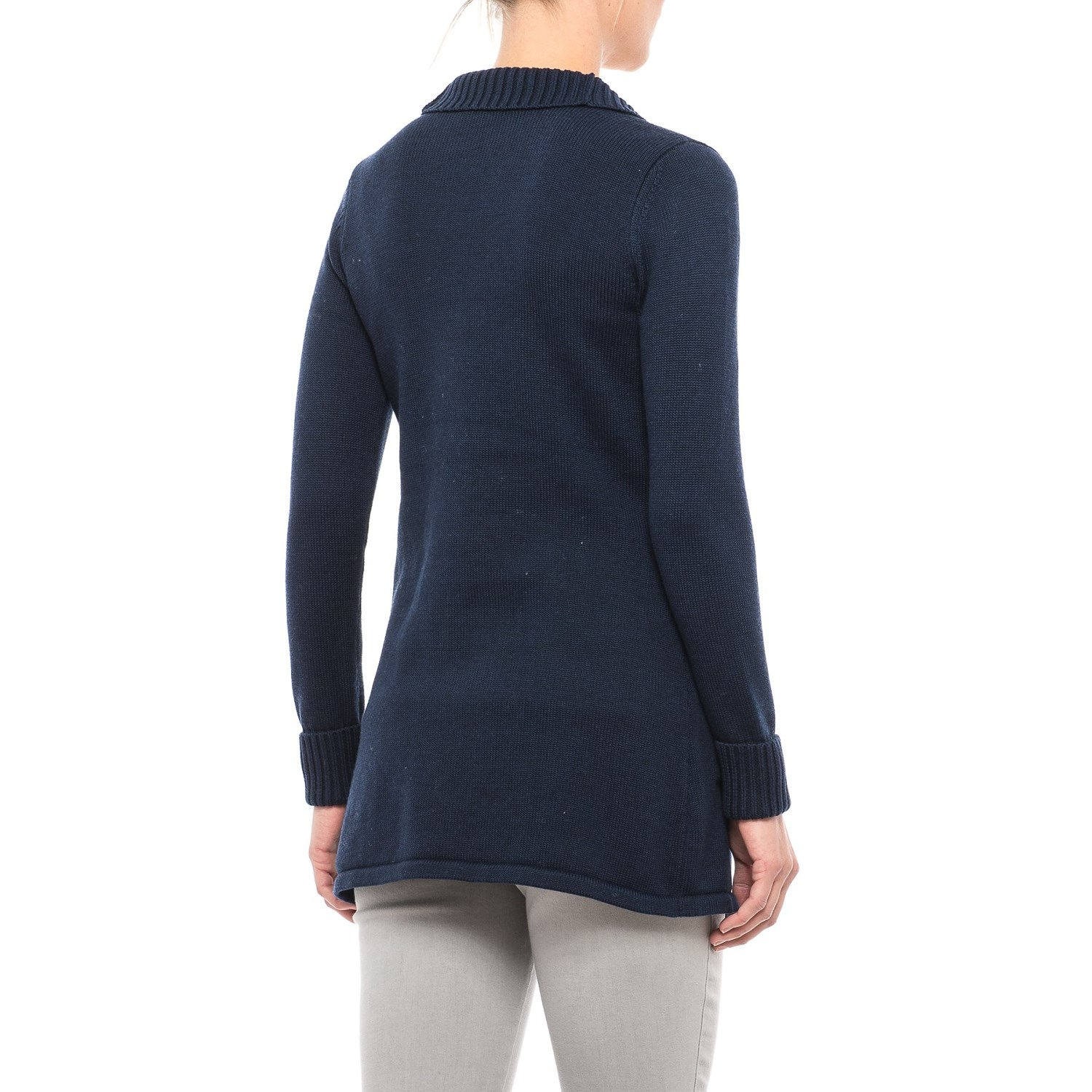 Tahari Ribbed Open Cardigan Sweater (For Women) - Save 44%