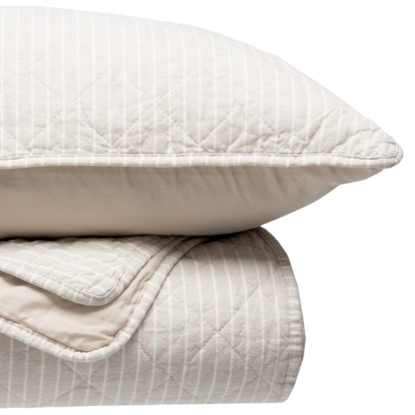 tahari rosecliffe stripe quilt set king save 62