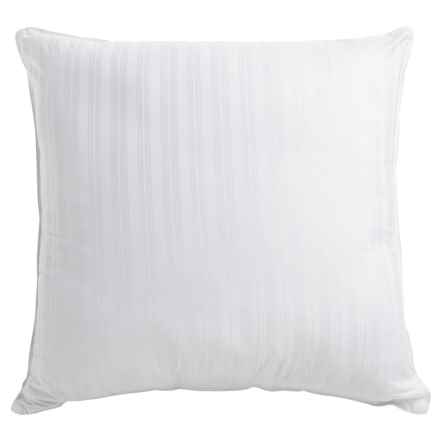 Tahari Square Down Alternative Striped Pillow - Euro, 300 TC in See Photo - Closeouts