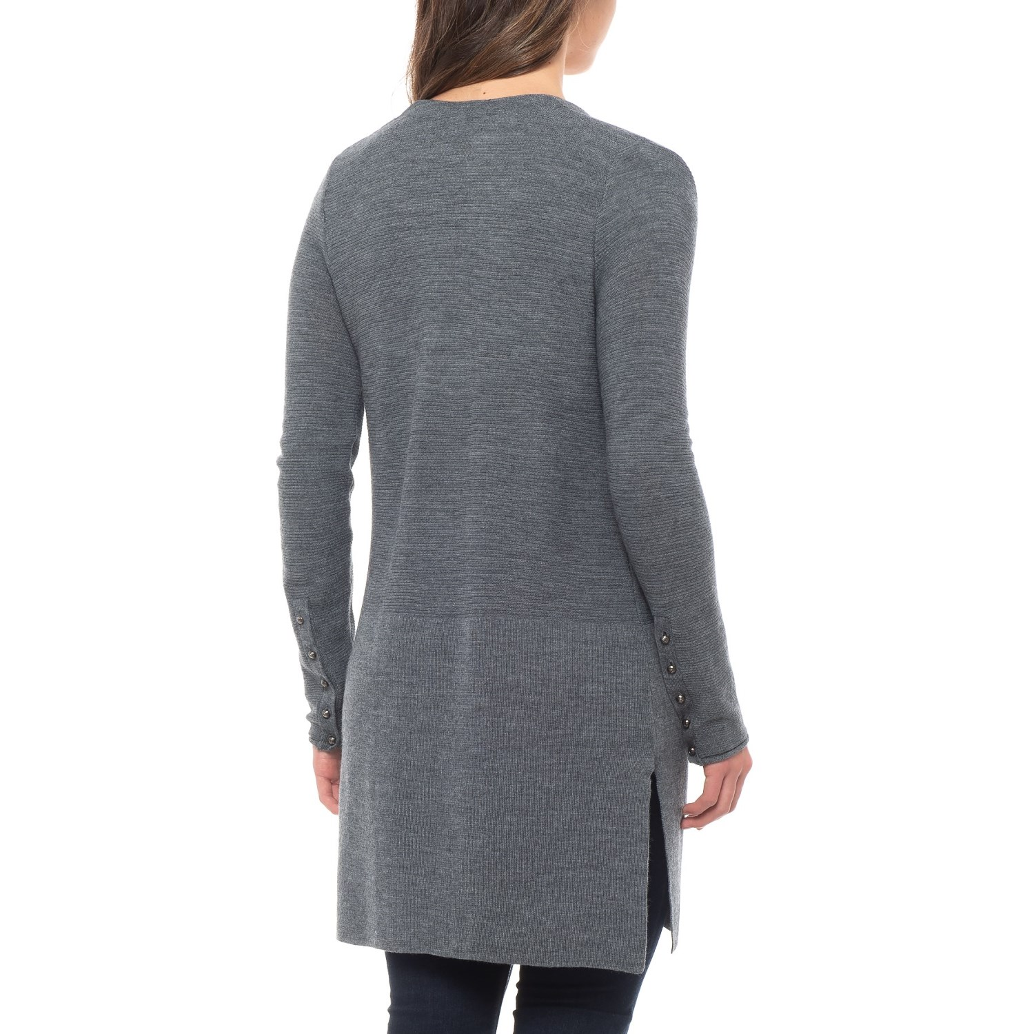 af1fc191e7 Tahari Textured Cardigan Sweater - Merino Wool (For Women)