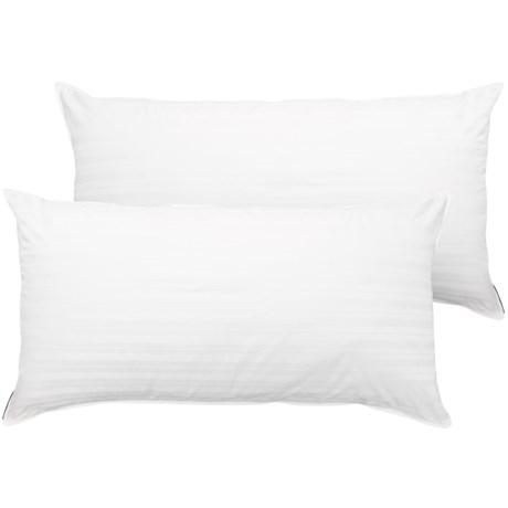 Tahari Won't Go Flat Pillows - King, 300 TC, 2-Pack in White