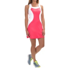 Tail Activewear Fortuna Dress - Racerback, Sleeveless (For Women) in Calpyso - Closeouts