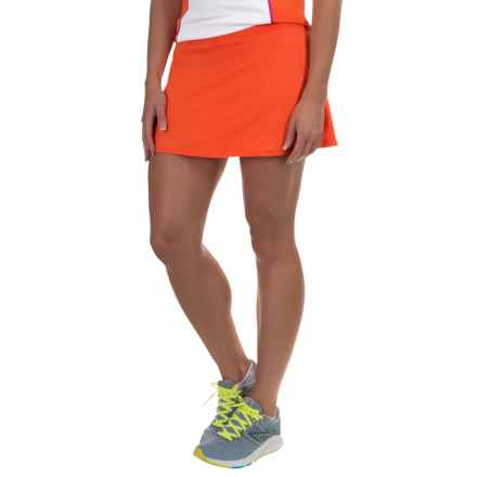 Tail Activewear Lisette Back Flounce Skort - UPF 45+ (For Women) in Vermillion - Closeouts