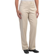 Tail Activewear Tech Pants - UPF 45+, Classic Fit (For Women) in Chino - Closeouts