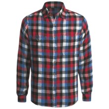 Tailor Vintage Plaid Shirt - Long Sleeve (For Men) in Blue - Closeouts