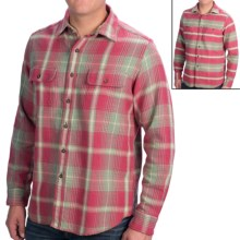 Tailor Vintage Reversible Shirt - Spread Collar, Long Sleeve (For Men) in Red Sage - Closeouts