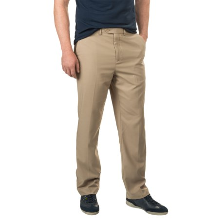 TailorByrd Dress Pants - Flat Front (For Men) in Khaki
