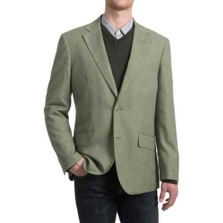 Tailorbyrd Houndstooth Sport Coat - Rayon Blend (For Men) in Green - Closeouts
