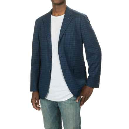 Tailorbyrd Plaid Sport Coat - Wool Blend (For Men) in Navy - Closeouts