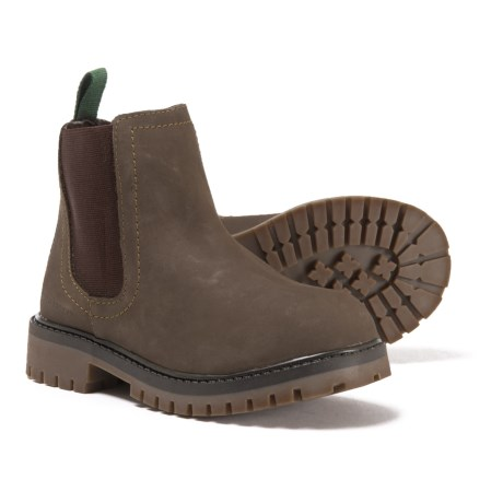 CLOSEOUTS. Tough and protective, Kamikand#39;s Takodac boots are made from smooth leather with waterproof protection, a soft lining and a grippy lugged rubber outsole. Available Colors: BROWN. Sizes: 11T, 12T, 13C, 1C, 5C, 6C, 7C.