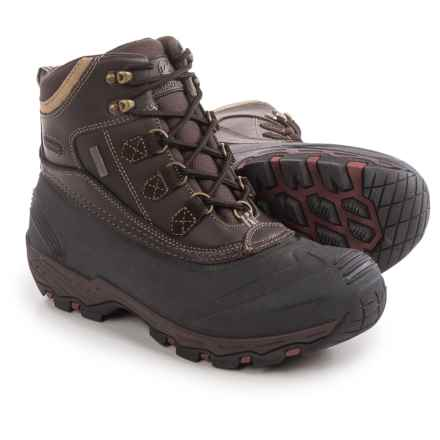 Tamarack 400g Thinsulate® Snow Boots - Waterproof, Insulated (For Men) in Brown - Closeouts