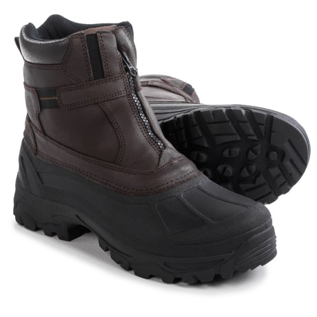 Tamarack Buffalo Snow Boots - Waterproof, Insulated, Leather  (For Men)