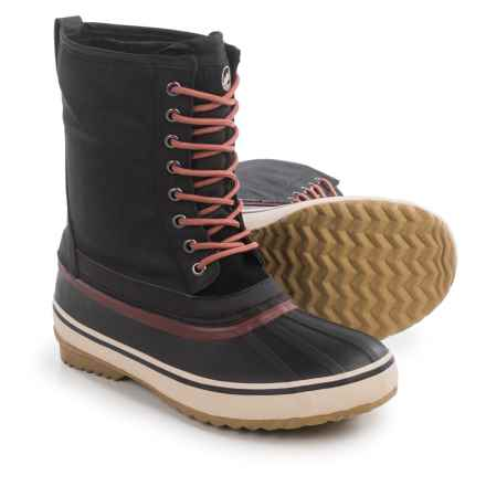 Tamarack Peak Pac Boots - Waterproof (For Men) in Black - Closeouts