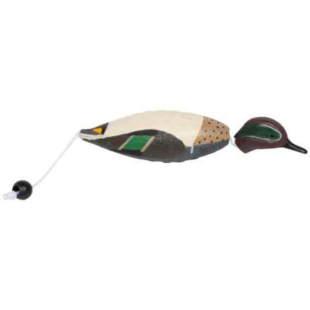 Tanglefree Dead Bird Duck Bumper - Small in Green Wing Teal - Closeouts