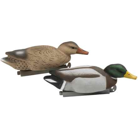 Tanglefree Pro Series Mallard Skimmer Floater Decoys - 4-Pack in See Photo - Closeouts