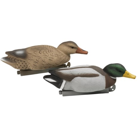 Tanglefree Pro Series Mallard Skimmer Floater Decoys - 4-Pack in See Photo