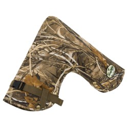 Tanglefree Tiller and ATV Mitt - Fleece Lined in Realtree Max4