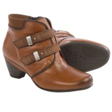 Taos Footwear Alto Ankle Boots - Leather (For Women) in Cognac - Closeouts