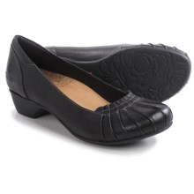 Taos Footwear Calypso Pumps - Leather (For Women) in Black - Closeouts
