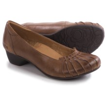 Taos Footwear Calypso Pumps - Leather (For Women) in Saddle Tan - Closeouts