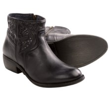 Taos Footwear Dove Ankle Boots - Leather (For Women) in Black - Closeouts