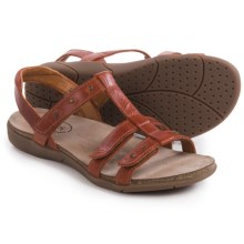 Taos Footwear Enchanted Leather Sandals (For Women) in Burnt Orange - Closeouts