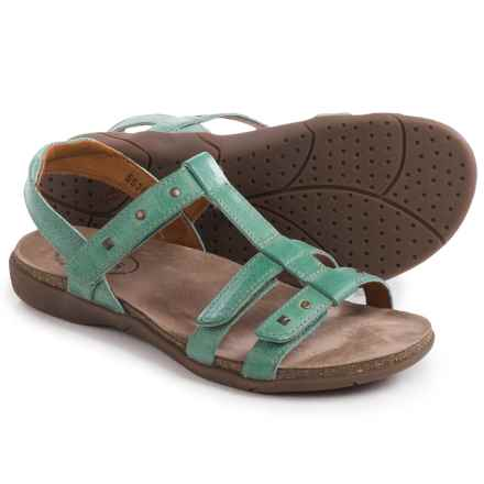 Taos Footwear Enchanted Leather Sandals (For Women) in Teal - Closeouts